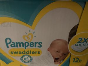 Pampers Swaddlers NB for Sale in Austin, TX