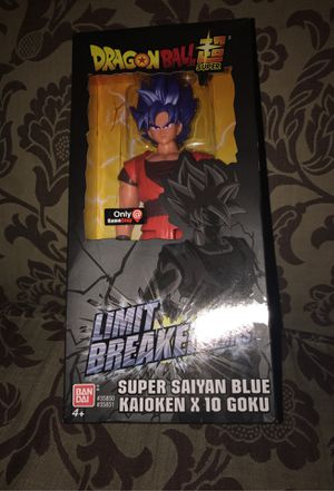 Dragon Ball Super Limit Breaker Series Goku Super Saiyan blue kaioken X 10 Goku for Sale in San Diego, CA