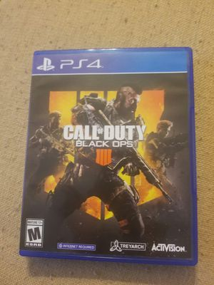 call of duty black ops 4 for ps4 for Sale in Phoenix, AZ