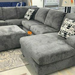 Ballinasloe Smoke Sectional 👉SAME DAY DELIVERY for Sale in Arlington,  VA