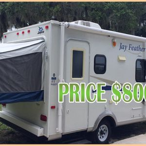 Stylish Looking 2010 Jayco jay Feather.$800 for Sale in Oklahoma City, OK