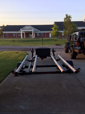 Hobie Red Mirage & Hobie Camo Mirage Outback. Double kayak trail for Sale in Murfreesboro, TN