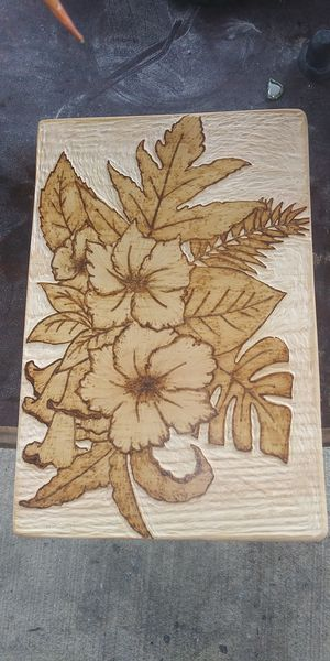 Hibiscus art 40 or best offer! for Sale in Columbus, OH