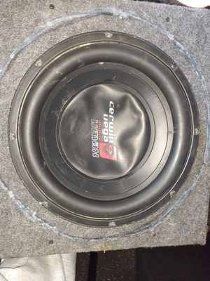 I have (3) 12 inch subs for Sale in Allentown, PA