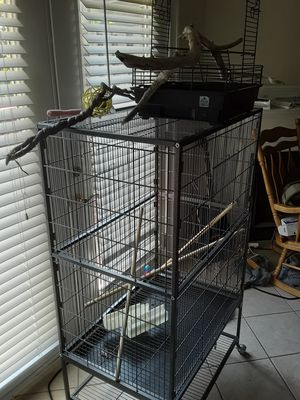New never used Bird Cage plus accessories for Sale in Marietta, GA
