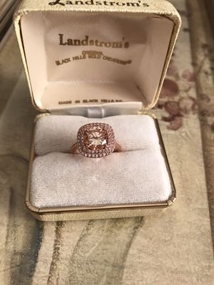 18K Rose Gold Filled Champagne Ring Sz7 for Sale in Addison, IL