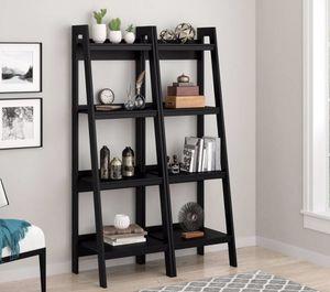 New 2 for $99 Ladder Bookshelves $99 for Sale in Dallas, TX