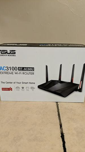 Asus RT-AC88U AC3100 WiFi Router for Sale in Los Angeles, CA