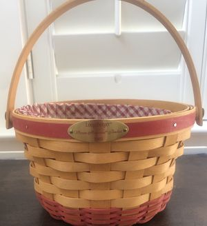 Longaberger Warm Memories Basket for Sale in Raleigh, NC