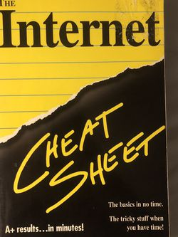 The Internet Cheat Sheet By Bed Snell for Sale in Phoenix,  AZ
