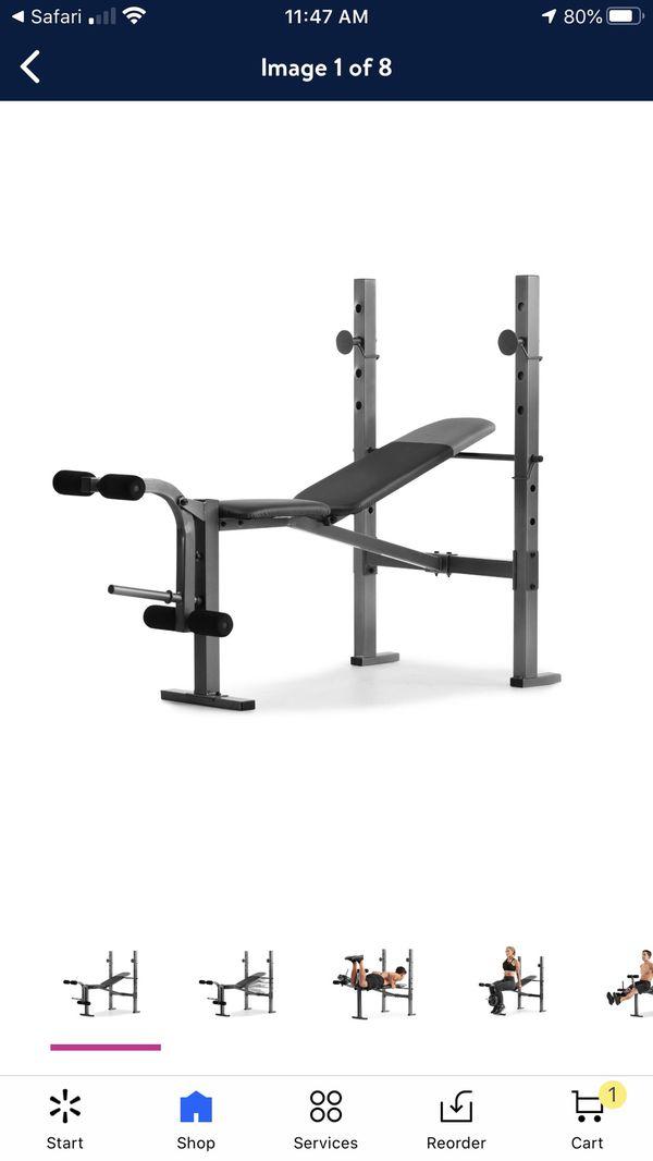 Weight Bench Rack