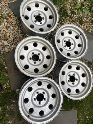 5 Jeep Tj wheels size 16........16x8 for Sale in Herndon, VA