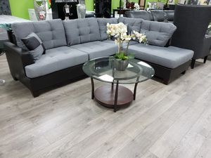 Sectional with ottoman included. Financing available. No credit check for Sale in Las Vegas, NV