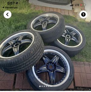 18 inch icon rims and tires for Sale in Philadelphia, PA