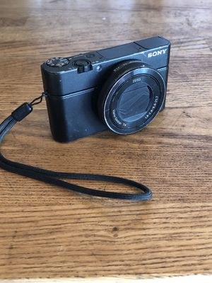 Sony RX-100 IV 4k 20.1MP Digital Camera for Sale in San Diego, CA
