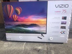 """75"""" VIZIO E75-F1 4K UHD HDR LED SMART TV 2160P (FREE DELIVERY) for Sale in Tacoma, WA"""
