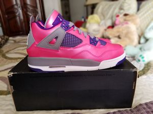 Air Jordan Retro 4 (GS) 'Pink Foil' (2013) for Sale in Fort Lauderdale, FL