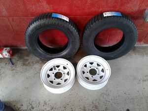 Boat or utility trailer WHEELS and tires for Sale in London, OH
