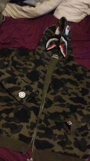 Trade or cash meet today real bape jacket for Sale in College Park, GA