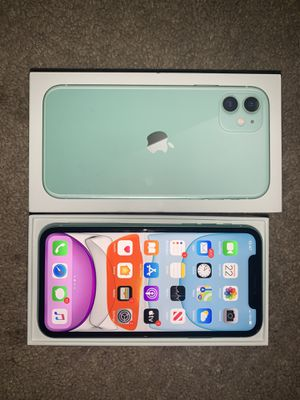 iPhone 11 Green 64GB for Sale in Temple Hills, MD