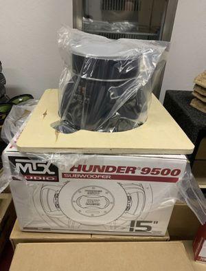Mtx car audio . 15 inch Thunder 9500 car stereo speaker . 3000 watts . New for Sale in Mesa, AZ