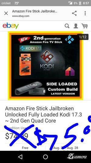 Amazon firestick 2nd gen with Alexa voice for Sale in Alton, IL