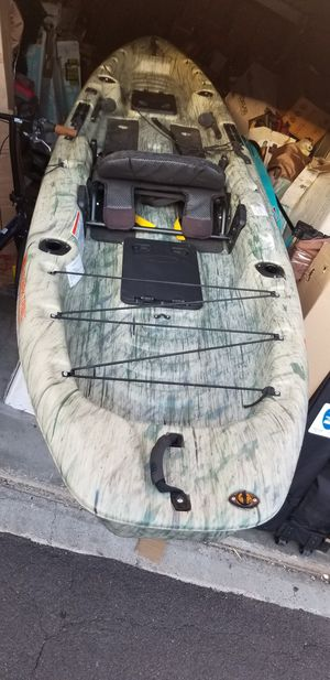 New ozark trail pro angler 12 fishing kayak for Sale in Phoenix, AZ