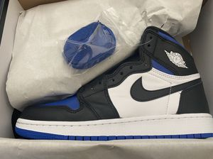 GS Jordan 1 Royal Toe Size 7Y for Sale in Fresno, CA