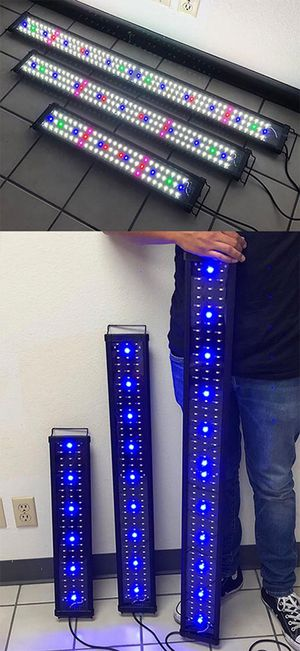 "NEW LED Aquarium Light (24""-30"" for $30), (36""-43"" for $40) and (45""-50"" for $45) for Sale in Downey, CA"