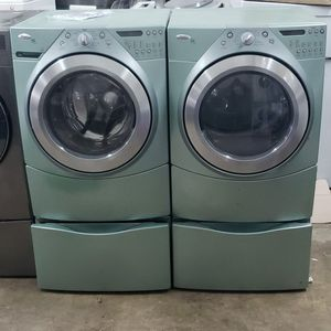 WHIRPOOL DUET WASHER AND DRYER SET WITH DRAWERS for Sale in Miami, FL
