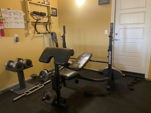 Bench, gym, workout for Sale in Rancho Cucamonga, CA