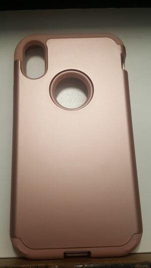 """Case for iphone XR 6.1"""" color goldrose new 10firm shiping only for Sale in Phoenix, AZ"""