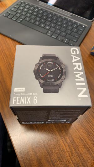 Garmin Fēnix 6X Sapphire Smartwatch - Black. BRAND NEW IN BOX. SEALED AND NEVER OPENED. for Sale in Dunwoody, GA