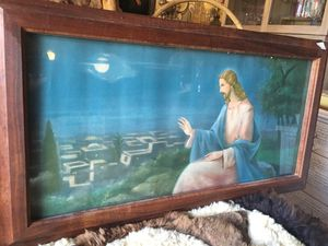 Vintage Jesus wall art picture for Sale in San Diego, CA