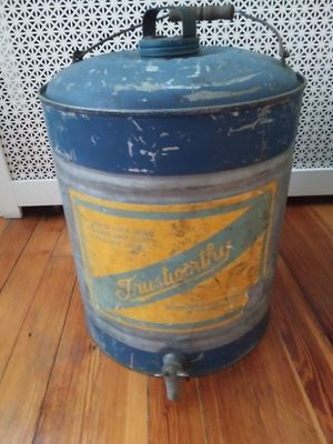Farmhouse metal water cooler for Sale in Belleville, NJ