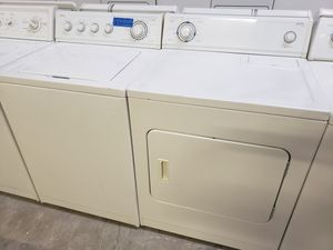 KIRKLAND WASHER AND ELECTRIC DRYER for Sale in Modesto, CA