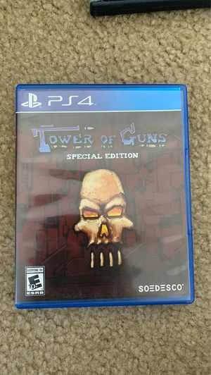 Tower of Guns PS4 for Sale in Gilroy, CA