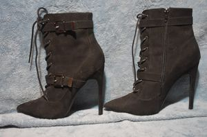 Black suede, calf high boots. for Sale in Zephyrhills, FL