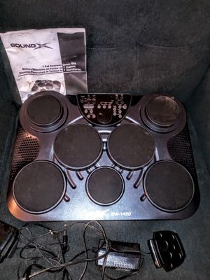 Soundx 7 pad drum set SMI-1450 for Sale in Carl Junction, MO