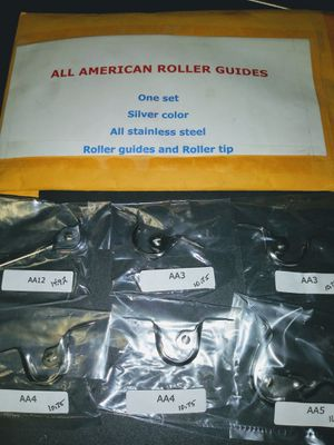 Brand new set of stainless roller guides and tip for Sale in Chula Vista, CA