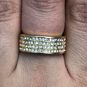 18k gold filled sapphire band for Sale in Silver Spring, MD