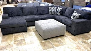 New Oversized Sectional & $39 DOWN & couch & sofa Chaise for Sale in Humble, TX