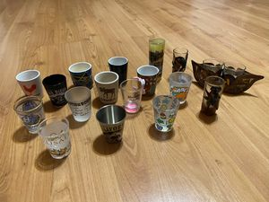 Shot Glass Collectibles for Sale in San Fernando, CA