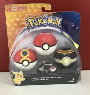 Pokemon Throw 'N' Catch Poké Ball 3 Pack for Sale in Miami, FL