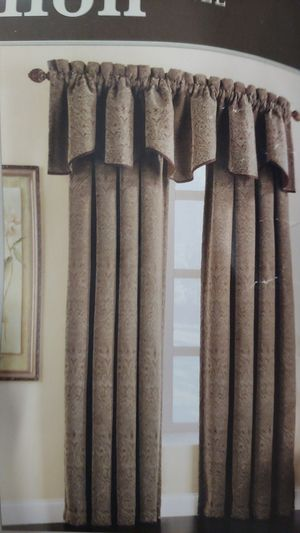 Panel curtains x6 for Sale in Redmond, WA