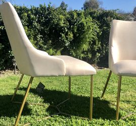 ⭐️New Modern Nathan Side/accent Chair Set(2) P/U By ASHLAN AND TEMPERANCE IN CLOVIS for Sale in Clovis,  CA
