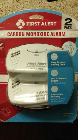 first alert New carbon monoxide alarm for Sale in Hermitage, TN