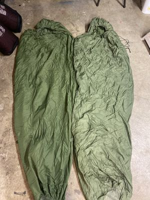 2- military issue patrol sleeping bags for Sale in Gresham, OR