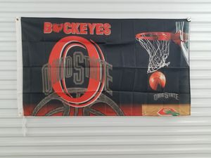 Ohio State Buckeyes Basketball Flag 3ftx5ft NCAA *NEW🔥Same Day Shipping! for Sale in Manassas, VA
