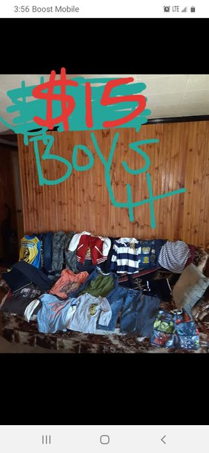Boys 4t clothing lot good condition for Sale in Saint Thomas, PA